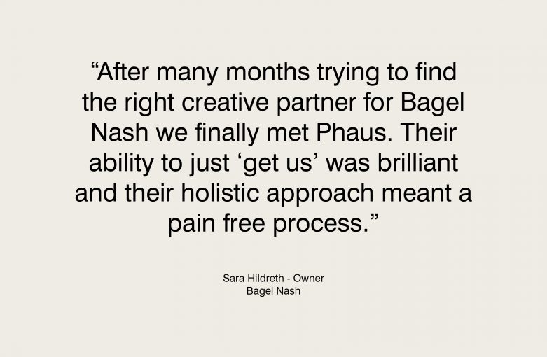 Bagel Nash Testimonial - Sara Hildreth, Owner