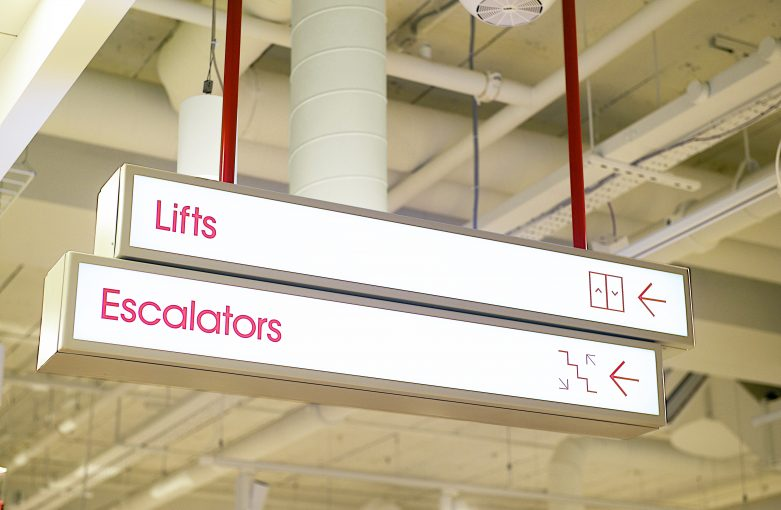Graphic Design and Signage for Matalan Cardiff