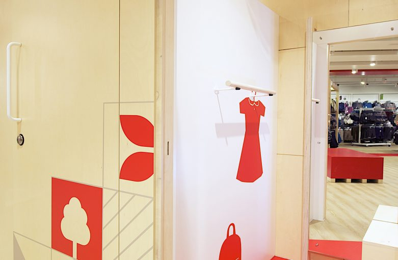 Matalan Cardiff Changing Room by Phaus