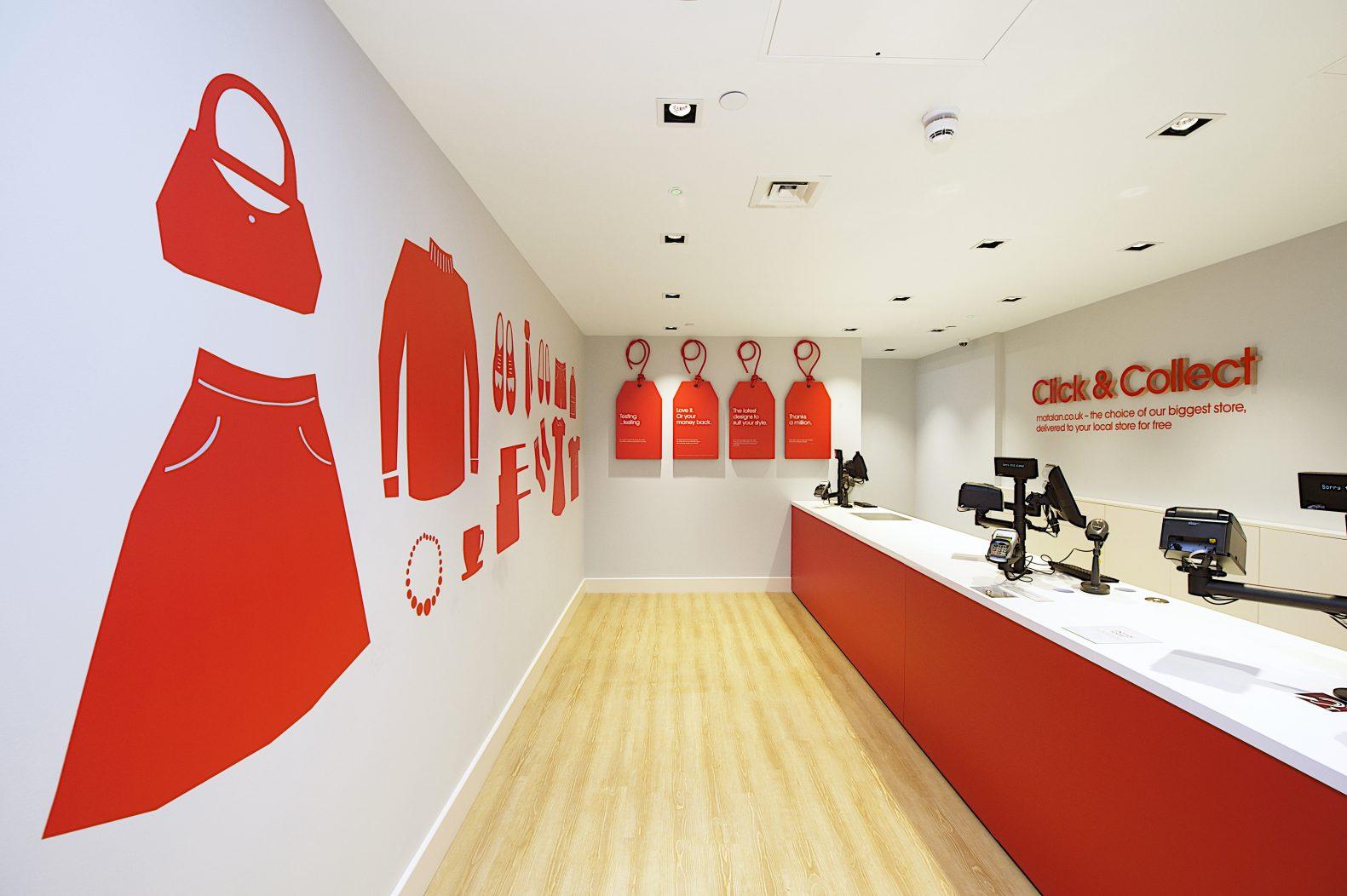 Matalan Cardiff Store by Phaus Designers