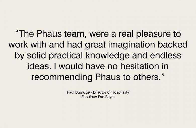 Manchester Art Gallery Cafe Testimonial - Paul Burridge Fabulous Fan Fayre