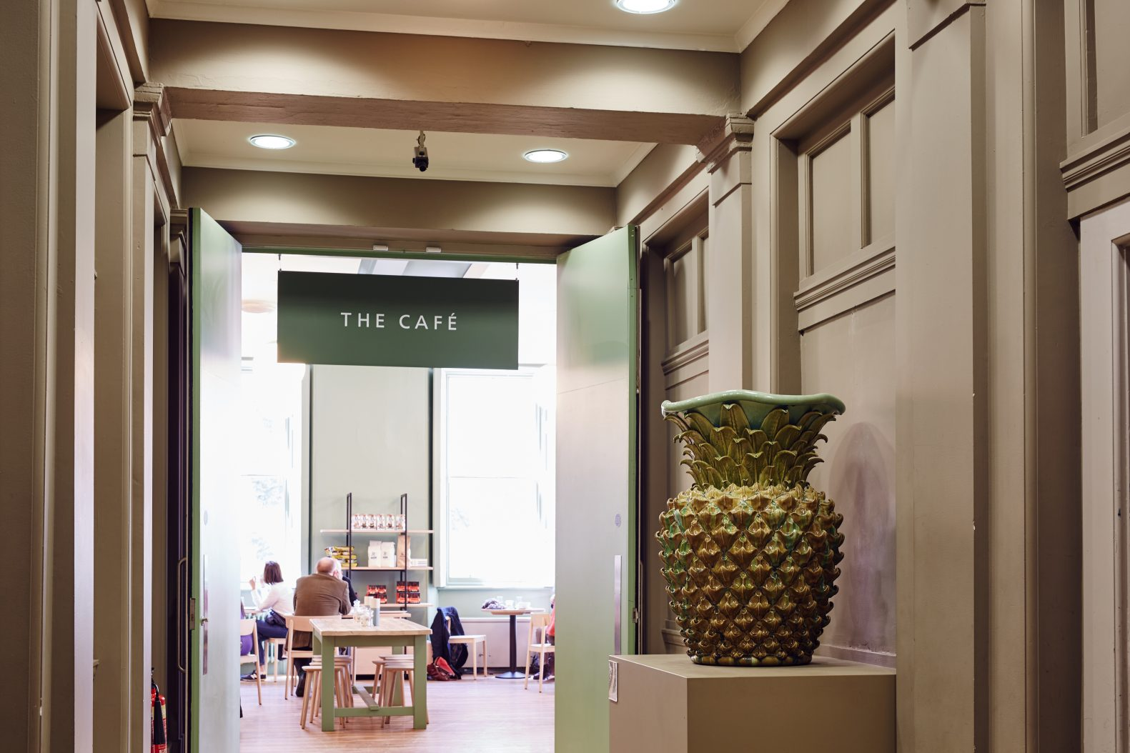Manchester Art Gallery Cafe Entrance