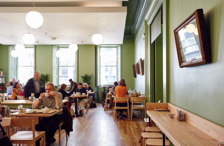 Manchester Art Gallery Cafe Interior