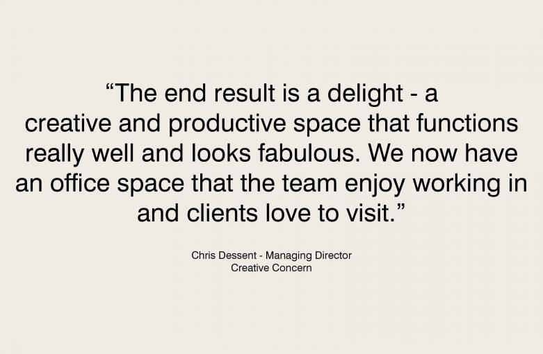 Creative Concern Testimonial - Chris Dessent, Director