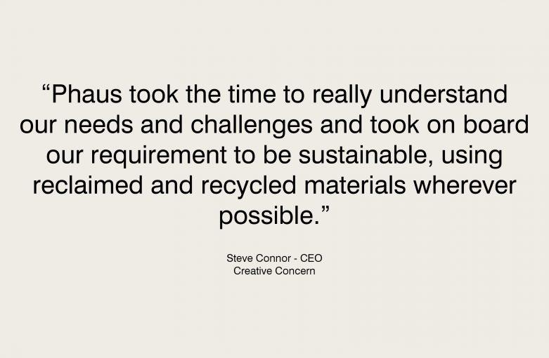 Creative Concern Testimonial Steve Connor CEO