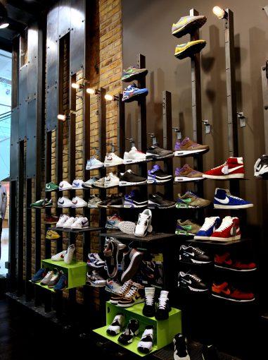 Foot Asylum Retail Display