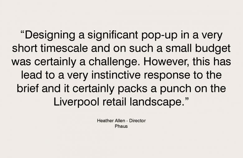 Footasylum Pop Up Testimonial - Heather Allen, Phaus