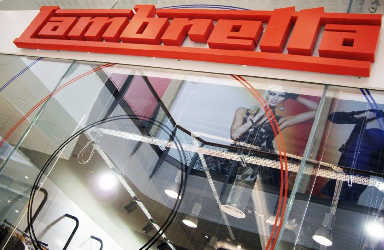Lambretta Shop Interior Design