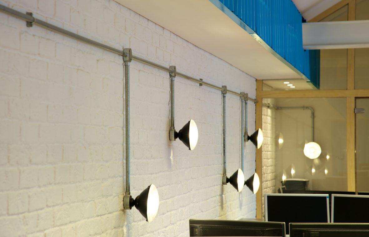 Bronco Office Lighting Design by Phaus