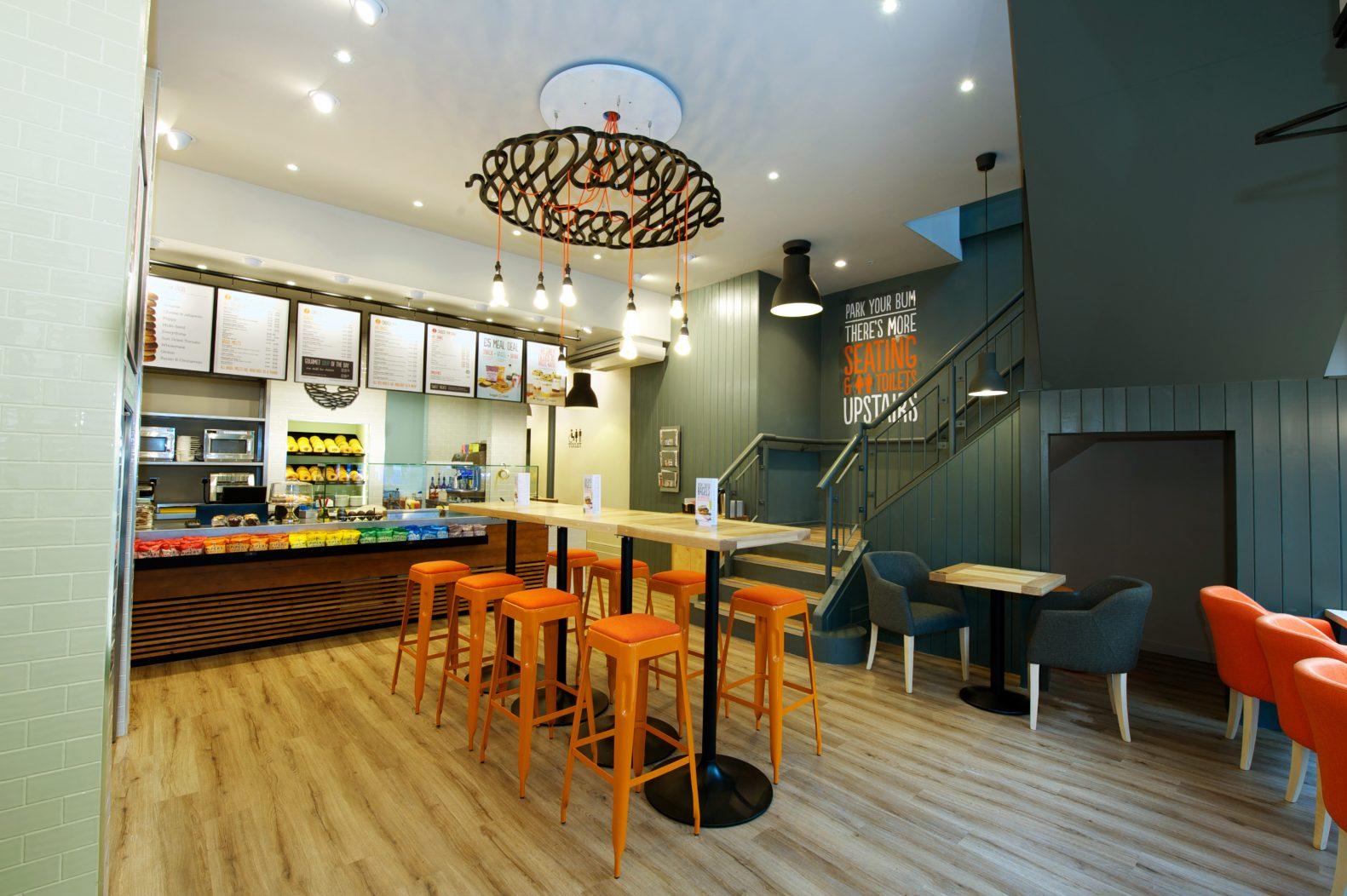 Bagel Nash Nottingham Shop Interior