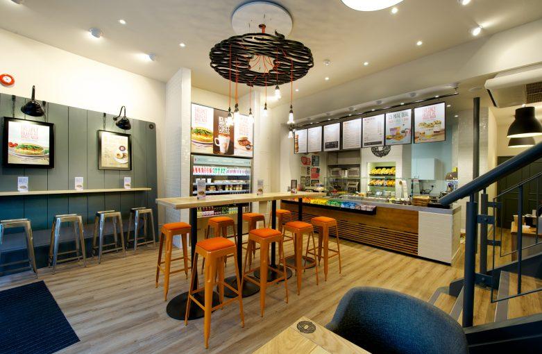 Bagel Nash Nottingham Retail Design
