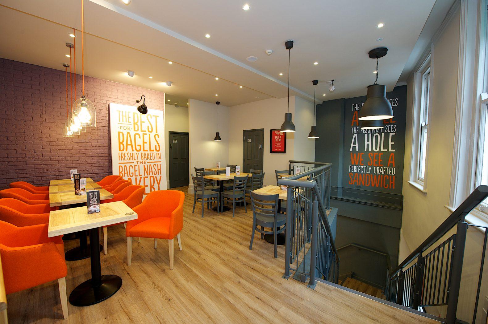 Bagel Nash Nottingham Cafe Design