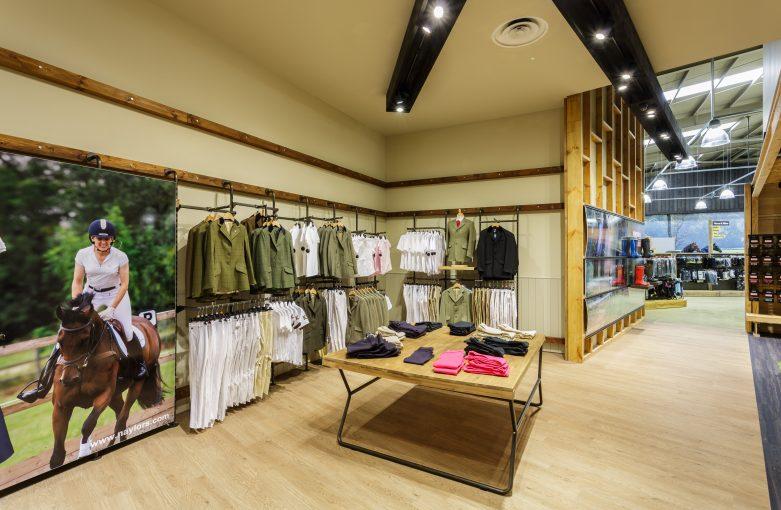 Naylors Equestrian Retail Design