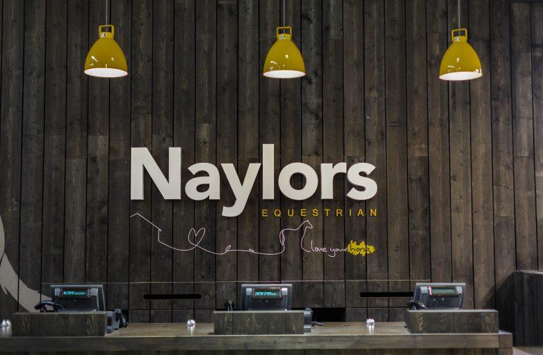 Naylors Equestrian Lighting Design Signage