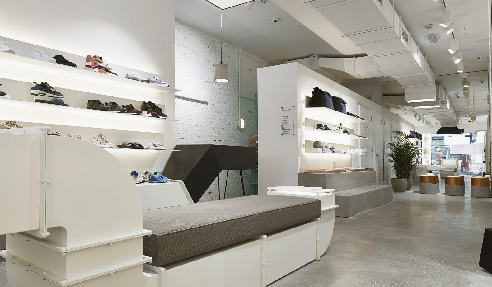 Size? For Women - Shop Interior Design
