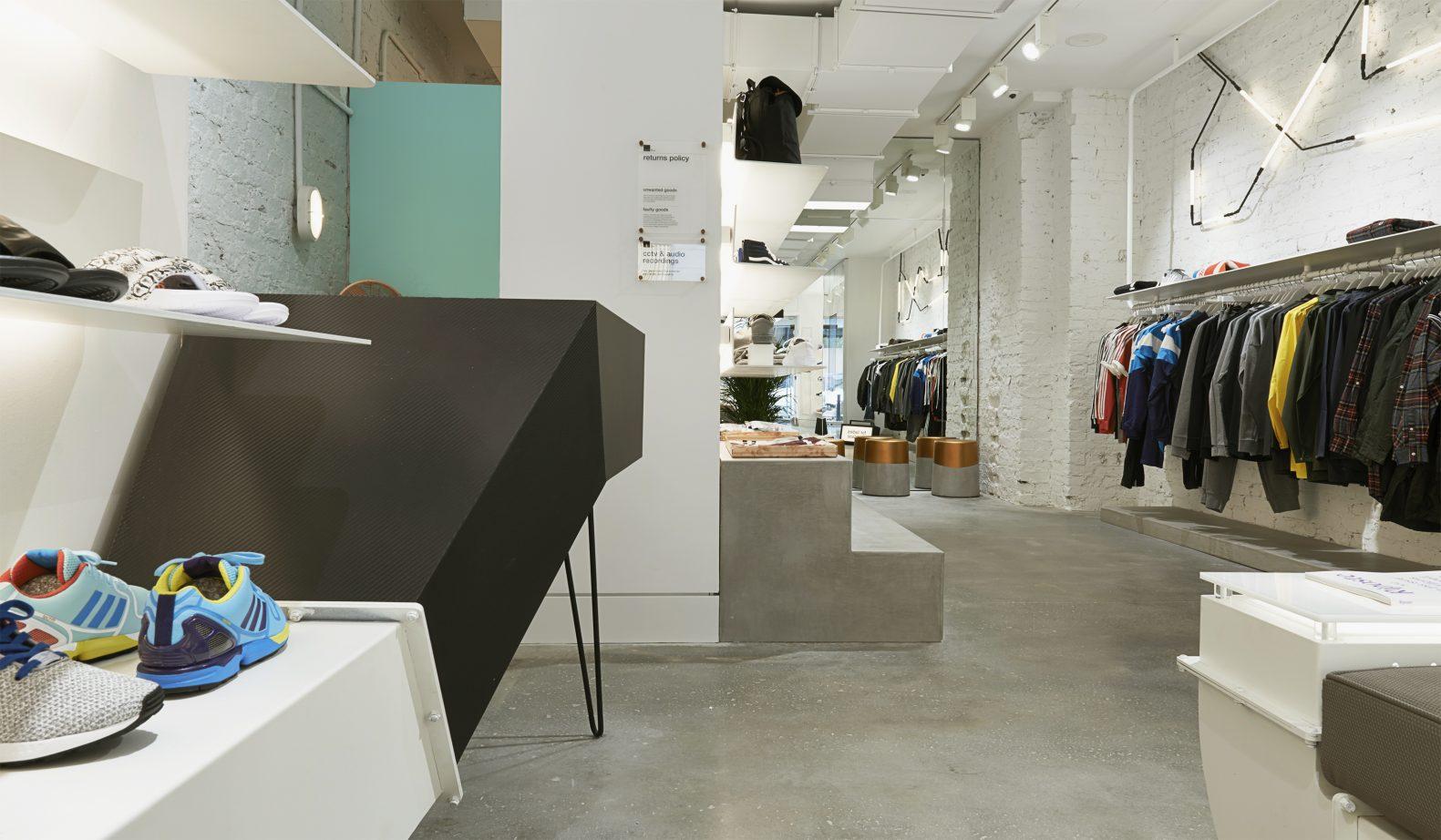 Size? For Women Retail Interior