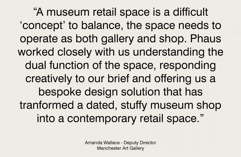 Manchester Art Gallery Testimonial