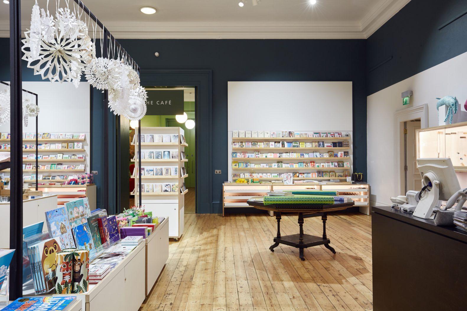 Manchester Art Gallery Shop Design