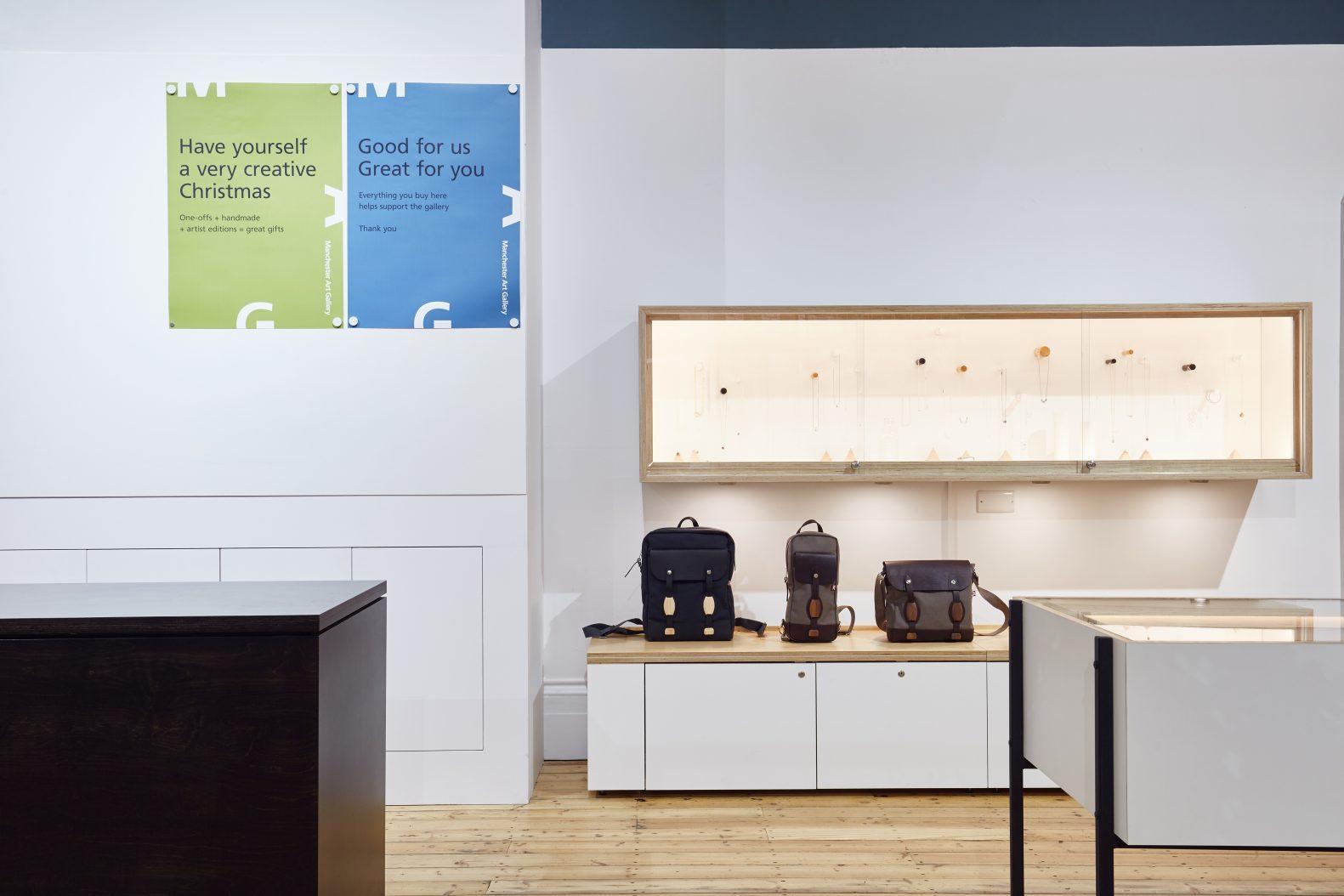 Manchester Art Gallery Shop Displays