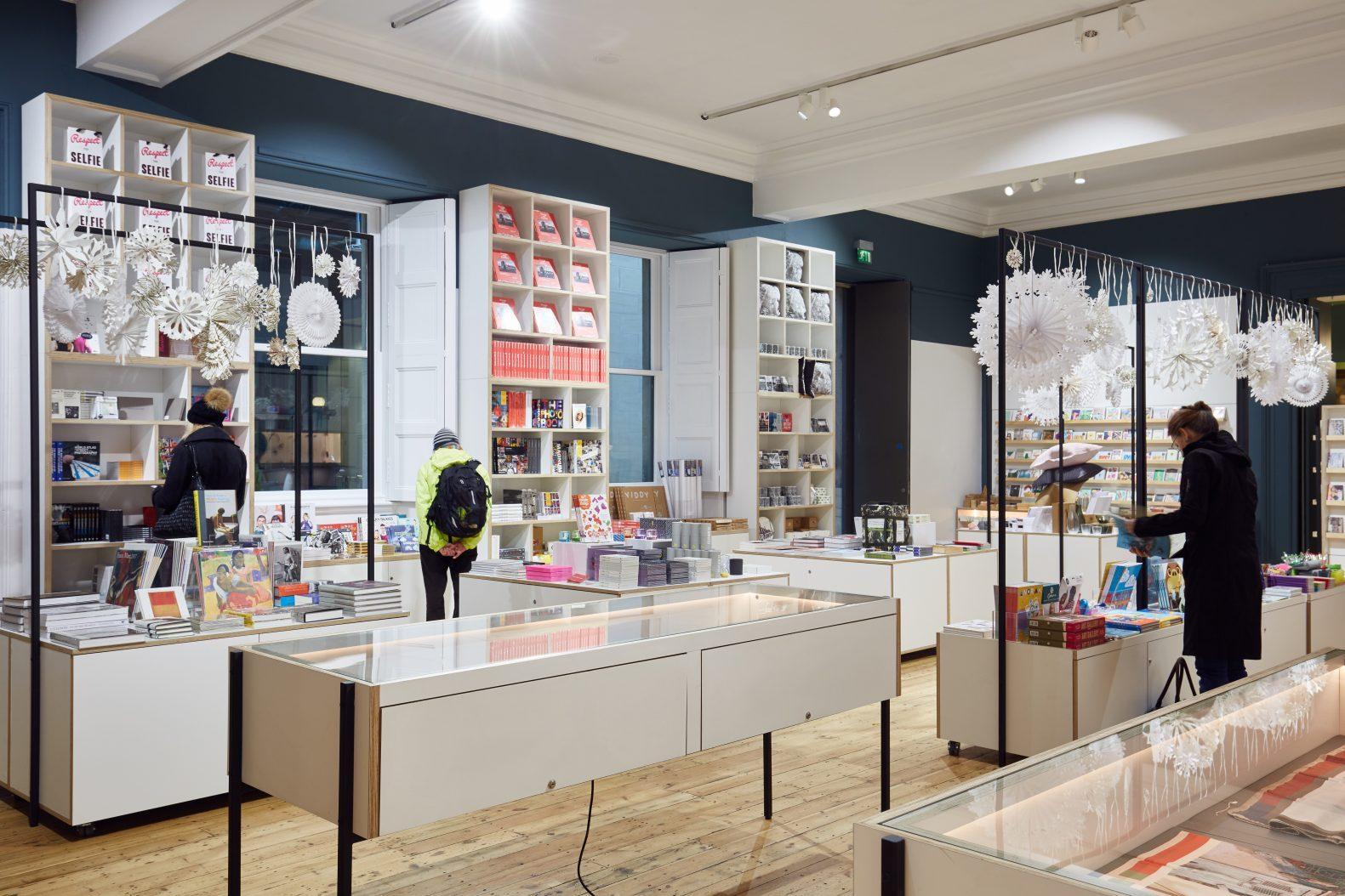 Retail Design for Manchester Art Gallery Shop