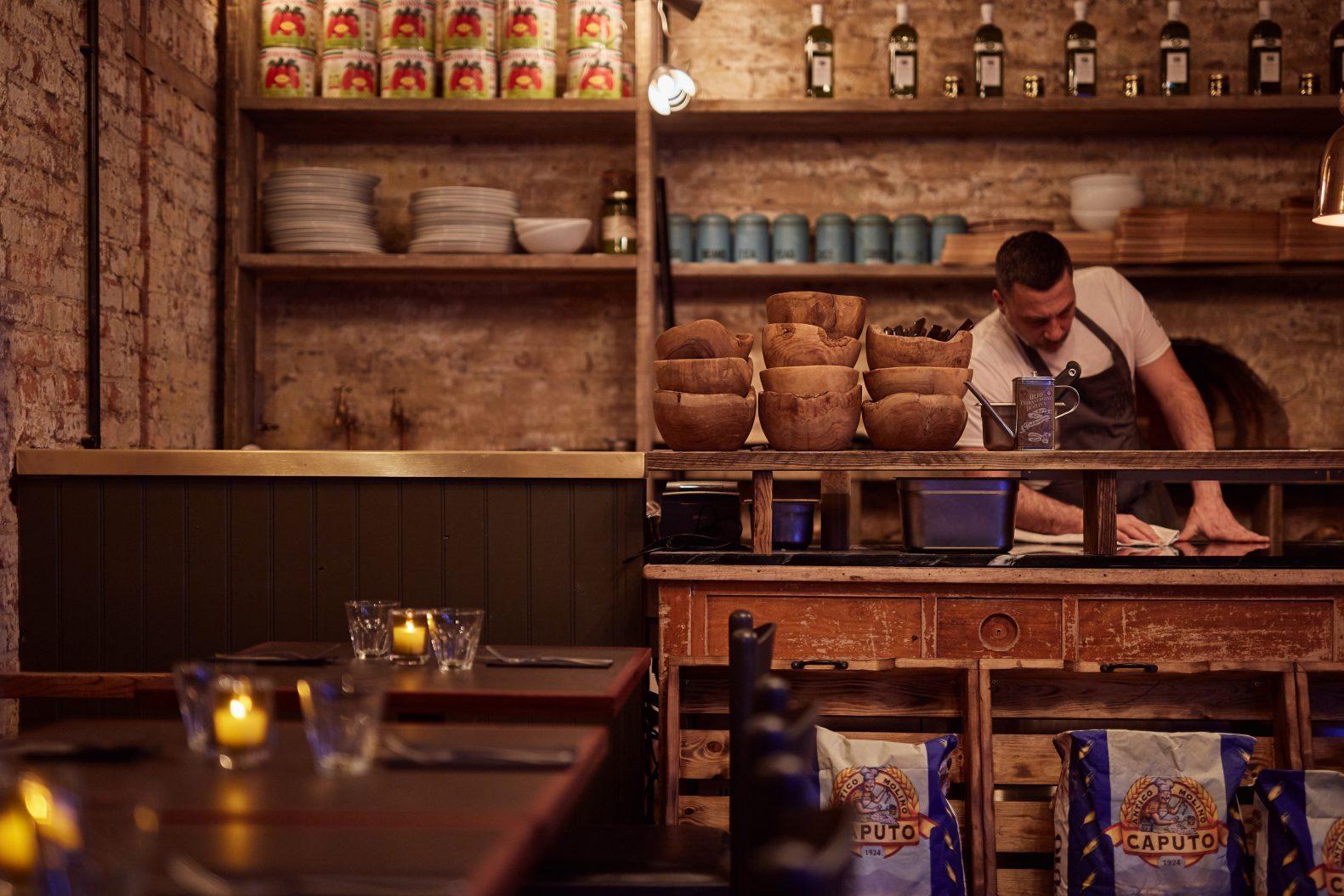 Tre Ciccio Altrincham Restaurant Design