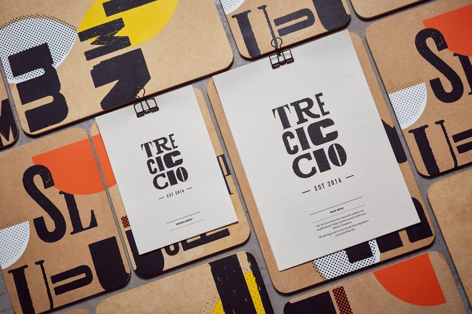 Tre Ciccio Brand Identity Creation by Phaus Designers