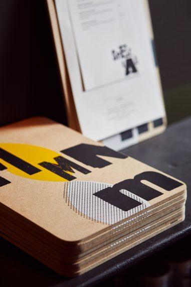 Graphic Design for Tre Ciccio Restaurants