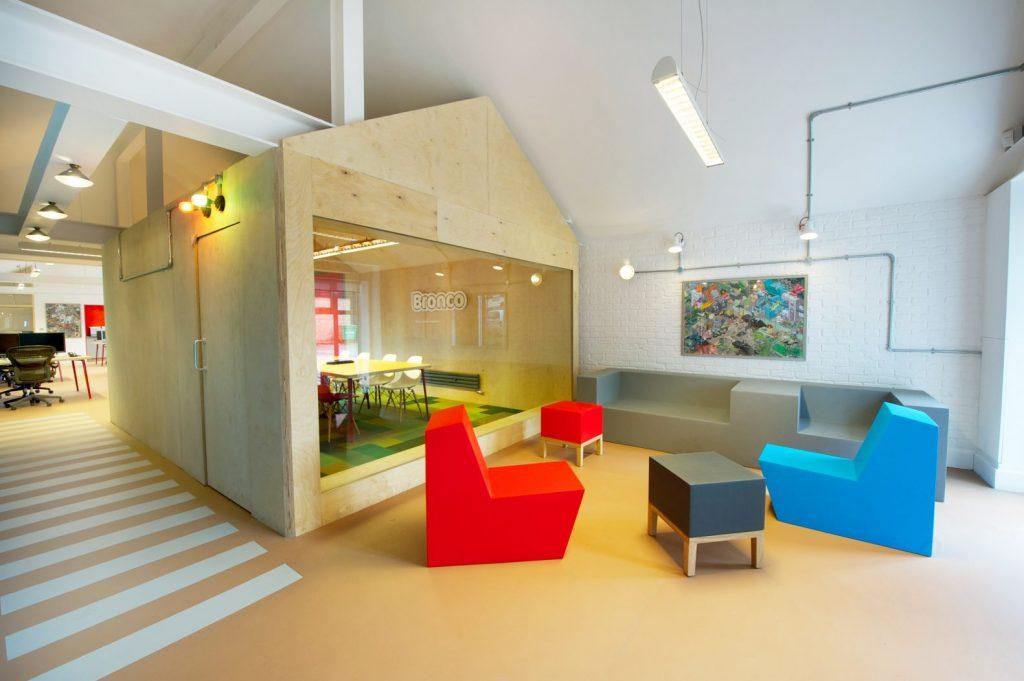 Bronco Digital Office Interior by Phaus